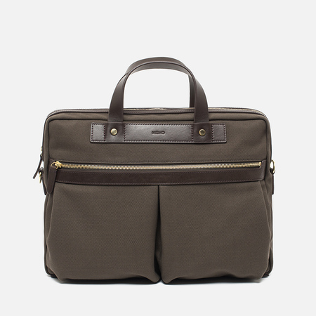 Mismo MS Office Bag Army/Dark Brown