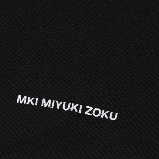 Сумка MKI Miyuki-Zoku Embroidered Logo Tote Black
