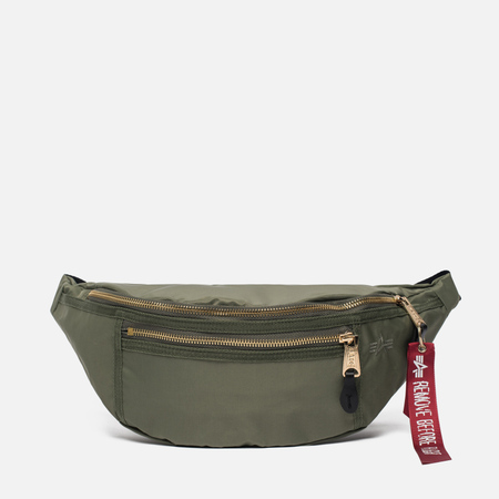 Сумка на пояс Alpha Industries Survival Sage Green
