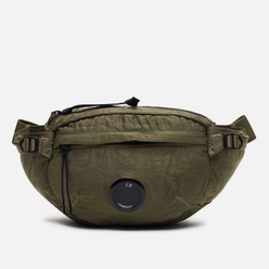 Сумка на пояс C.P. Company GD Nylon Sateen Burnt Olive