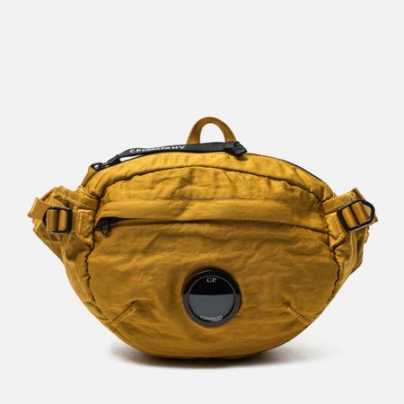 Сумка на пояс C.P. Company GD Nylon Sateen Golden Yellow