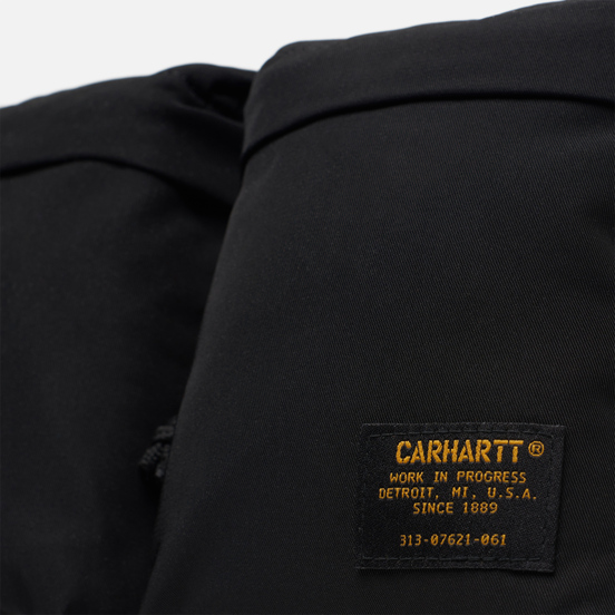 Сумка на пояс Carhartt WIP Military 5.8 Oz Black/Black