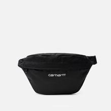 Сумка на пояс Carhartt WIP Payton Hip Cordura 8 Oz Black/White фото- 0