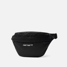 Сумка на пояс Carhartt WIP Payton Hip Cordura 8 Oz Black/White фото- 1