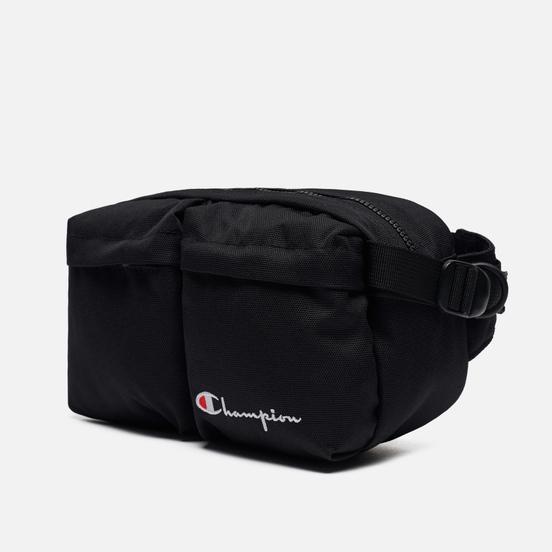 Сумка на пояс Champion Reverse Weave Cordura Logo Script Black
