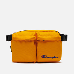 Сумка на пояс Champion Reverse Weave Cordura Logo Script Orange