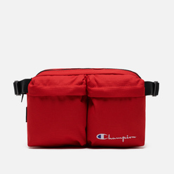 Сумка на пояс Champion Reverse Weave Cordura Logo Script Racing Red