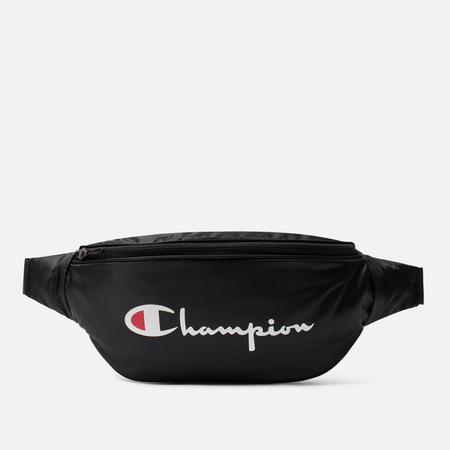 Сумка на пояс Champion Reverse Weave Satin Coated Black