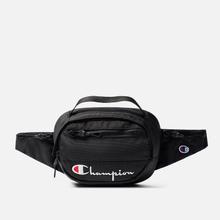 Сумка на пояс Champion Reverse Weave Script Logo Pocket Black Beauty фото- 0