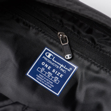 Сумка на пояс Champion Reverse Weave Script Logo Pocket Black Beauty фото- 4