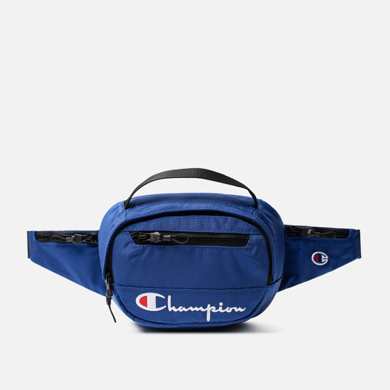 Сумка на пояс Champion Reverse Weave Script Logo Pocket Clematis Blue