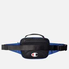 Сумка на пояс Champion Reverse Weave Script Logo Pocket Clematis Blue фото- 2