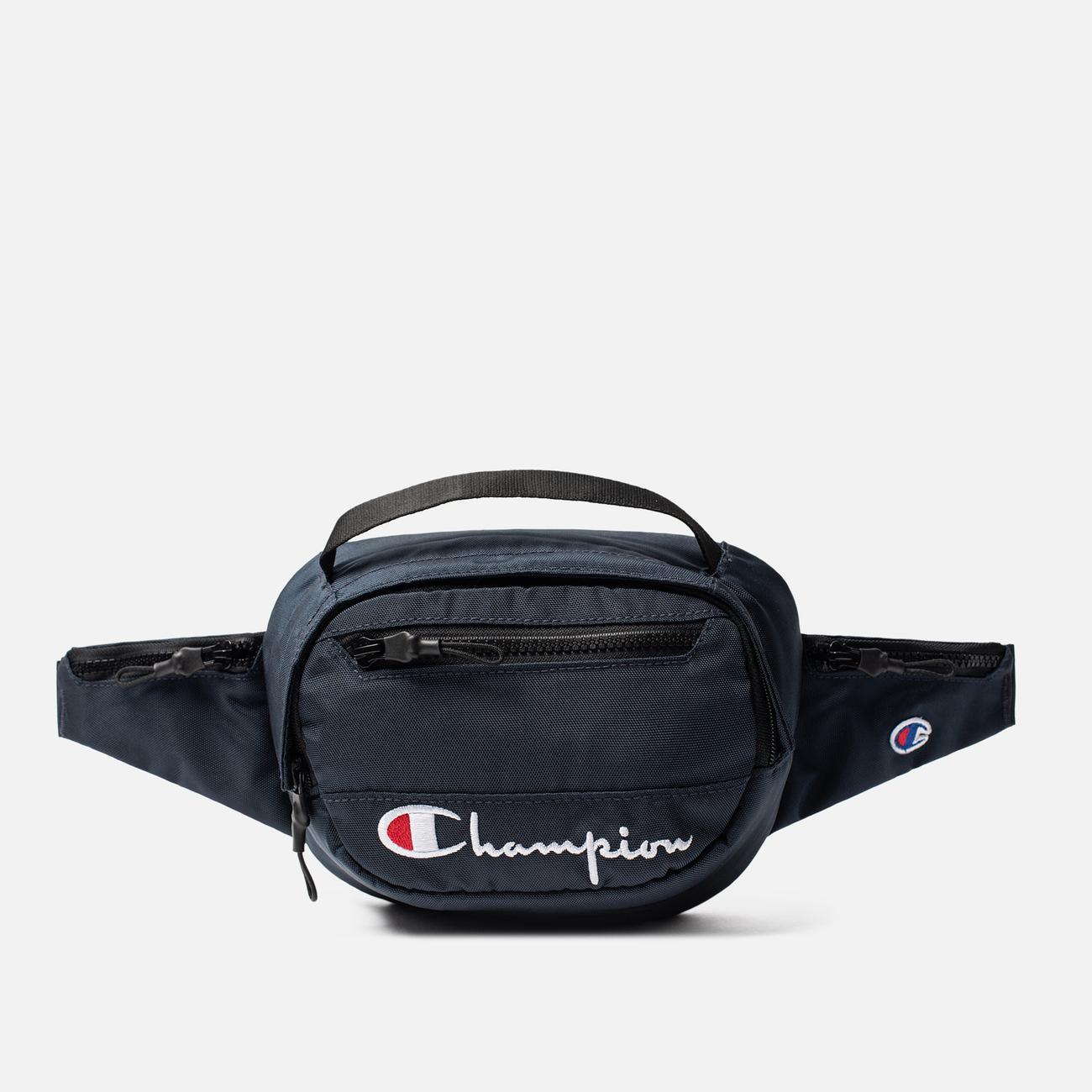 Сумка на пояс Champion Reverse Weave Script Logo Pocket Sky Captain