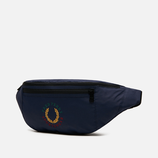 Сумка на пояс Fred Perry Branded Ripstop Navy