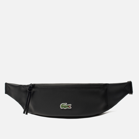 Сумка на пояс Lacoste L.12.12 Concept Coated Petit Pique Canvas Black