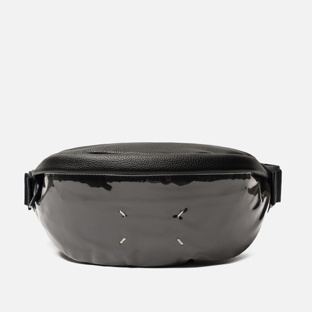 Сумка на пояс Maison Margiela 11 Classic Leather/Vinyl Black/Black