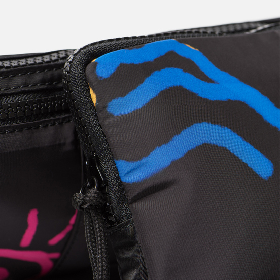Сумка на пояс Marcelo Burlon All Over Sketches Fanny Pack Multicolor