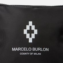 Сумка на пояс Marcelo Burlon Cross Fanny Pack Black/White фото- 5
