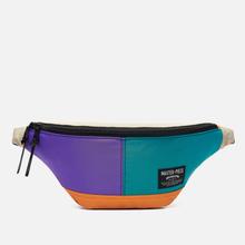 Сумка на пояс Master-piece Rush Purple/Turquoise фото- 0