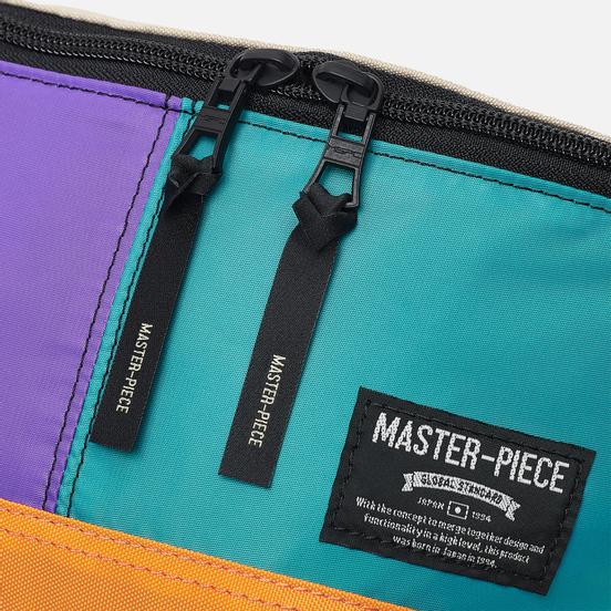 Сумка на пояс Master-piece Rush Purple/Turquoise