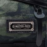 Сумка на пояс Master-piece x Nowartt Collaboration Series Dark Green фото- 4
