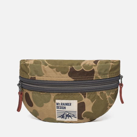 Сумка на пояс Mt. Rainier Design Original Two Zip Pouch Camo Camouflage