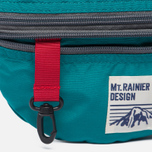 Сумка на пояс Mt. Rainier Design Original Two Zip Turquoise фото- 3
