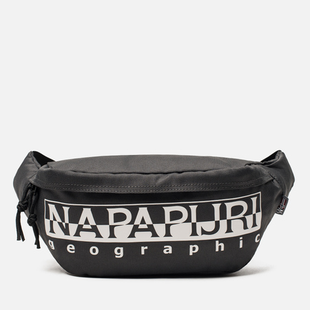 Сумка на пояс Napapijri Happy Bum 1 Dark Grey Solid