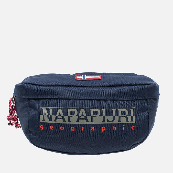 Napapijri Hum Waist Bag Blue Marine