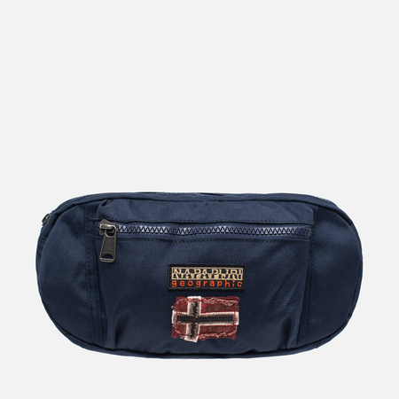 Napapijri Hum Waist Bag Main Apps Blue Marine