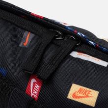 Сумка на пояс Nike Heritage All Over Print Black/Black/White фото- 4