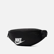 Сумка на пояс Nike Heritage Black/Black/White фото- 1