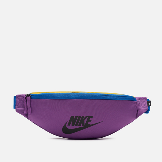 Сумка на пояс Nike Heritage Purple Nebula/Pacific Blue/Black