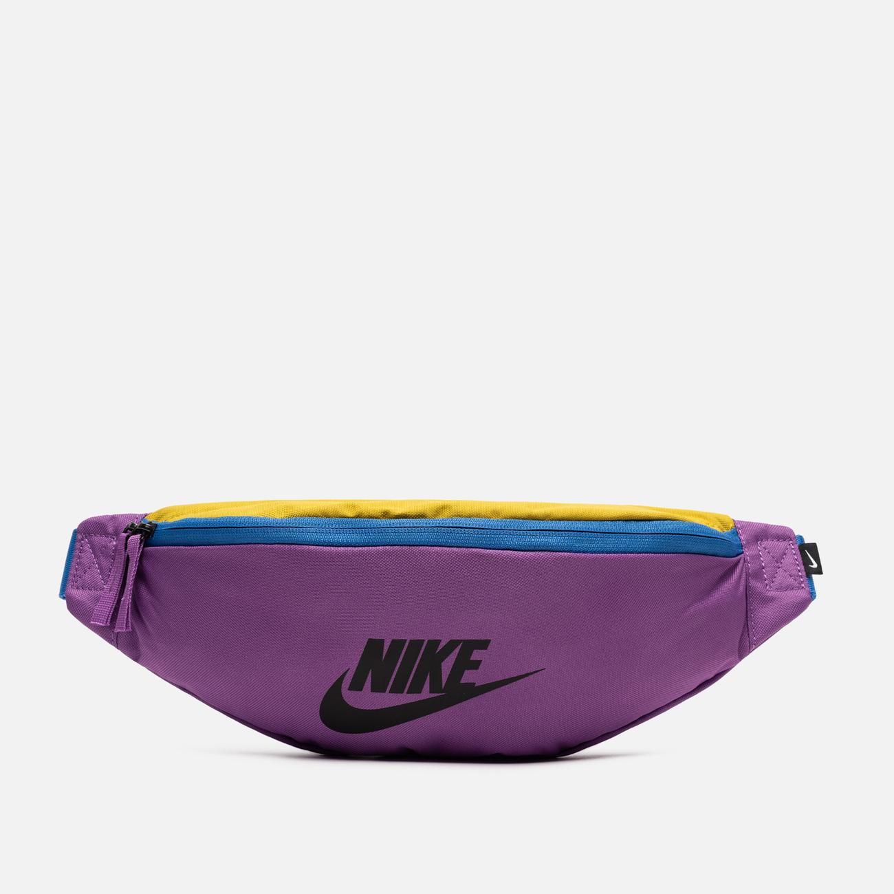 Сумка на пояс Nike Heritage Purple Nebula/Pacific Blue/Black