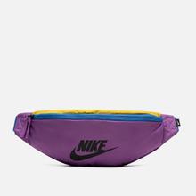 Сумка на пояс Nike Heritage Purple Nebula/Pacific Blue/Black фото- 0