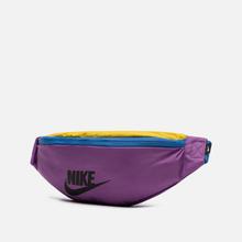 Сумка на пояс Nike Heritage Purple Nebula/Pacific Blue/Black фото- 1