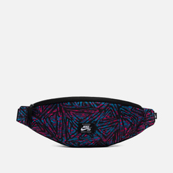 Сумка на пояс Nike SB Heritage All Over Print Black/Laser Blue/White