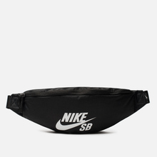 Сумка на пояс Nike SB Heritage Black/Black/White фото- 0