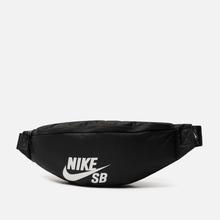 Сумка на пояс Nike SB Heritage Black/Black/White фото- 1
