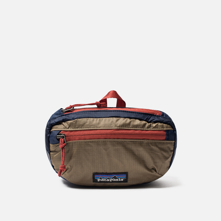 Сумка на пояс Patagonia Lightweight Travel Mini Hip 1L Classic Navy/Mojave Khaki