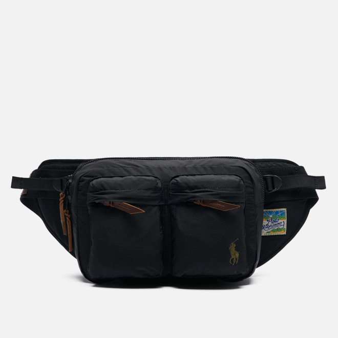 Сумка на пояс Polo Ralph Lauren Lightweight Mountain WPII Cotton/Nylon Black