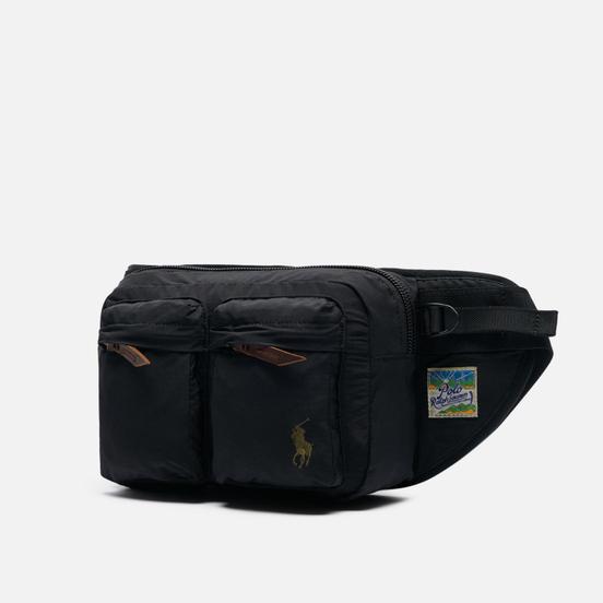 Сумка на пояс Polo Ralph Lauren Lightweight Mountain WPII Cotton/Nylon Black