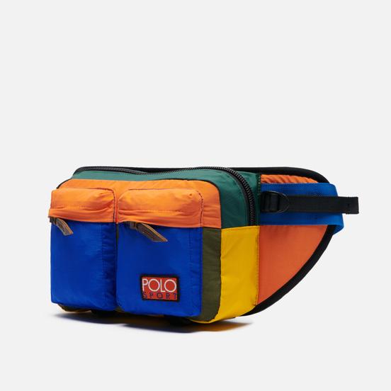 Сумка на пояс Polo Ralph Lauren Lightweight Mountain WPII Cotton/Nylon Colorblock Multicolor