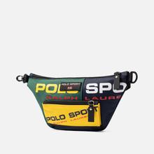 Сумка на пояс Polo Ralph Lauren Polo Sport Nylon Navy/Green/Yellow фото- 1