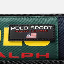 Сумка на пояс Polo Ralph Lauren Polo Sport Nylon Navy/Green/Yellow фото- 4