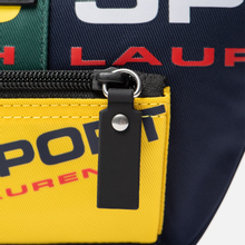 Сумка на пояс Polo Ralph Lauren Polo Sport Nylon Navy/Green/Yellow фото- 3
