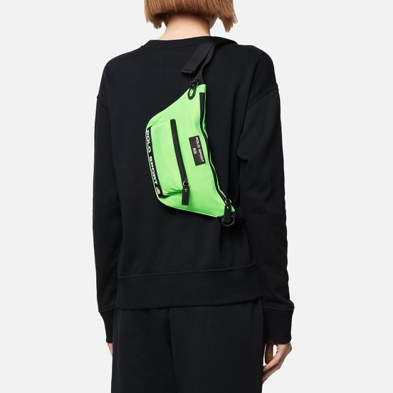 Сумка на пояс Polo Ralph Lauren Polo Sport Nylon Neon Lime