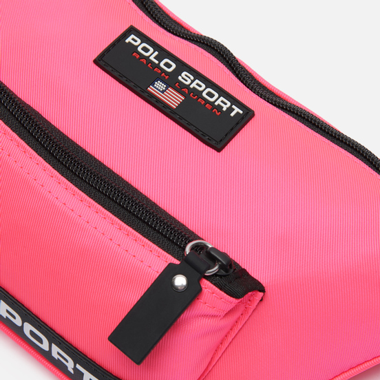 Сумка на пояс Polo Ralph Lauren Polo Sport Nylon Neon Pink