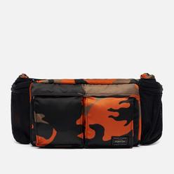Сумка на пояс Porter-Yoshida & Co PS Camo Woodland Orange