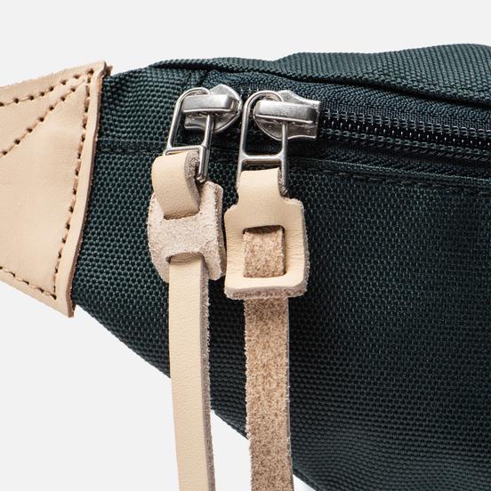 Сумка на пояс Sandqvist Aste 3L Dark Green/Natural Leather